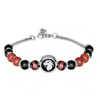 Bracciale Brosway Acciaio Componibile Beads Leone - Très Jolie - BTJNS88