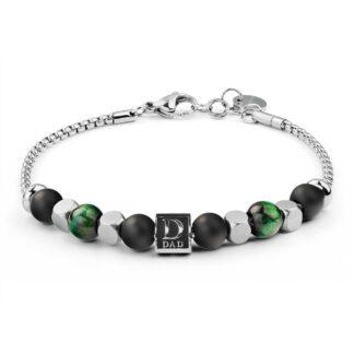 Bracciale Brosway Acciaio Componibile Beads Dad - Très Jolie - BTJNS91