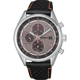 Orologio Citizen Eco Drive Cronografo Acciaio Pelle - Crono - CA0451-11H