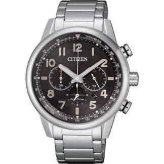 Orologio Citizen Eco Drive Cronografo Acciaio - Millitary - CA4420-81E