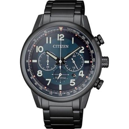 Orologio Citizen Eco Drive Cronografo Acciaio Nero - Millitary - CA4425-87L