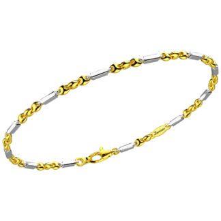 Bracciale Zancan Oro Bicolore 18kt - Eternity Gold - EB805GB