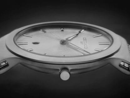 Orologio Ceccacci Solo Tempo Acciaio - Feather