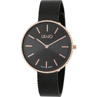 Orologio Liu Jo Donna Solo Tempo Acciaio Nero - Glamour Globe Maxi - TLJ1416
