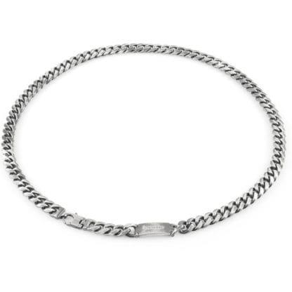 Collana Unoaerre Argento Maglia Grumetta - Silver - AG1489