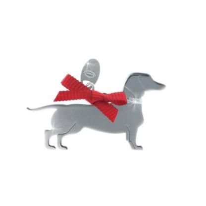 Ciondolo Unoaerre Argento Smalto Cane Bassotto - Happy Pets - AG834