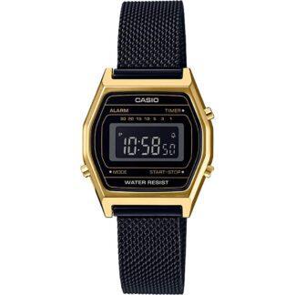 Orologio Cronografo Casio Acciaio Bicolore - Vintage - LA690WEMB-1BEF