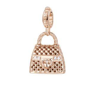 Charm Rosato Argento PVD Rosè Hand Bag- Storie - Z029