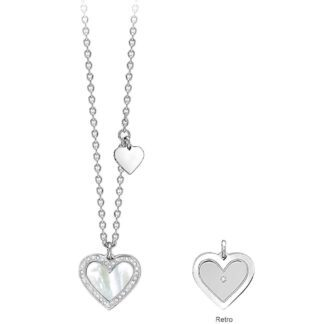 Collana Donna 2Jewels Acciaio Madreperla | Cuore - Stéphanie - 251594