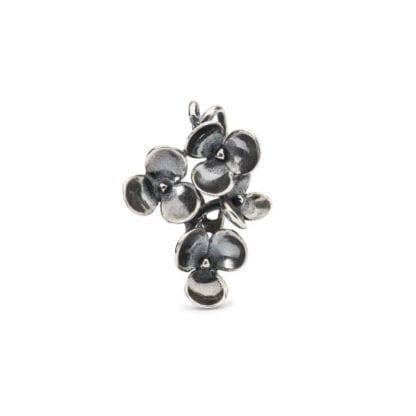 Ciondolo Trollbeads Argento | Violette - TAGPE-00070