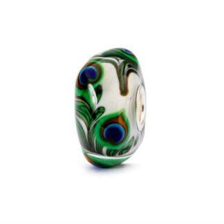 Bead Trollbeads Vetro Occhio di Pavone - TGLBE-10420