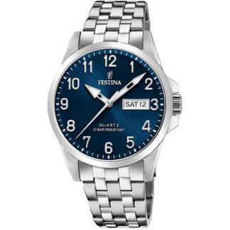 Orologio Festina Cronografo Acciaio - Acero Clasico - F20357/C