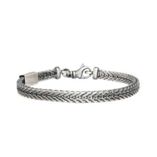 Bracciale Unoaerre Argento Maglia Coda di Volpe - Silver - AG1479