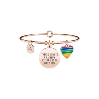 Bracciale Kidult Acciaio | There always be a Rainbow... - Philosophy - 731667