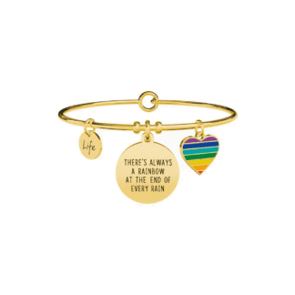 Bracciale Kidult Acciaio | There always be a Rainbow... - Philosophy - 731668