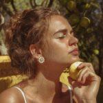 Orecchini Ziio in Argento e Vetro di Murano con Perle - EAR SOL PEARL