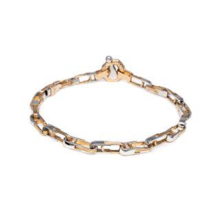 Bracciale Barakà Oro Bicolore Diamante - BR221151BRAV210004