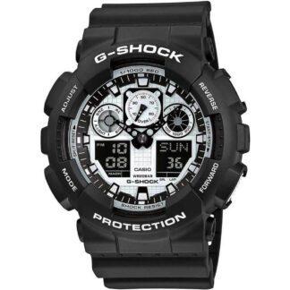Orologio Casio Crono Orologio Casio Cronografo G-Shock Uomo Resina - GA-100-BW-1AER