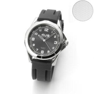 Orologio 4US Paciotti Acciaio Silicone - Black And Rubber - T4LS270