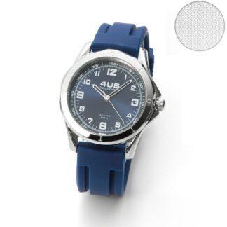 Orologio 4US Paciotti Acciaio Silicone - Night Blue Rubber - T4LS272