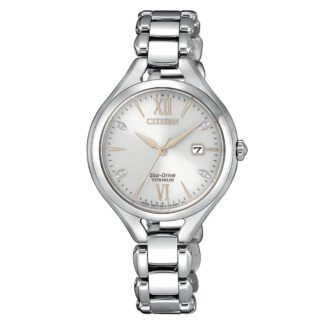 Orologio Citizen Eco Drive Titanio Diamanti - Lady Super Titanio - EW2560-86A