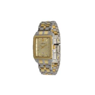 Orologio Solo Tempo Lorenz Acciaio e Oro - Desir - 022966CL