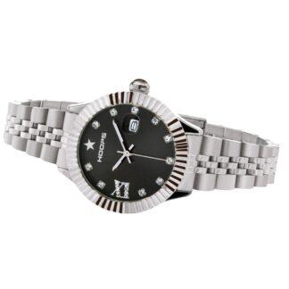 Orologio Solo Tempo Hoops in Acciaio con Zirconi - New Luxury Diamonds - 2619LD-S02