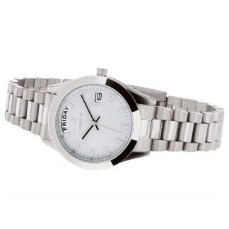 Orologio Solo Tempo Hoops in Acciaio - Luxury Day Date - 2620L-S03