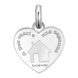 Charm Brosway in Acciaio con Casa | Famiglia - Très Jolie - BTJM380