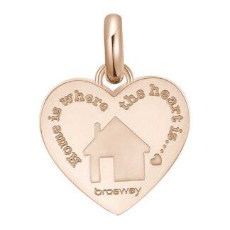 Charm Brosway in Acciaio con Casa | Famiglia - Très Jolie - BTJM381