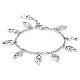 Bracciale Brosway in Acciaio con Cristalli Swarovski - Leaves Of Life - BVS13