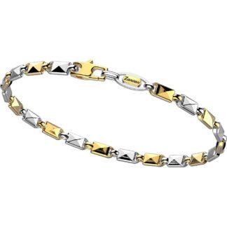 Bracciale Zancan in Oro Bianco e Oro Giallo - Eternity Gold - EB906BG