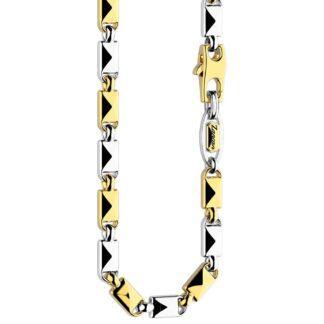 Collana Zancan in Oro Bianco e Oro Giallo - Eternity Gold - EC871BG