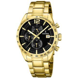 Orologio Cronografo Festina in Acciaio con PVD Oro Giallo - Prestige - F20266/3