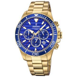 Orologio Cronografo Festina in Acciaio con PVD Oro Giallo - Prestige - F20364/2