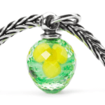 Beads Trollbeads Narciso Sfaccettato in Argento e Vetro di Murano - TAGBE-00070