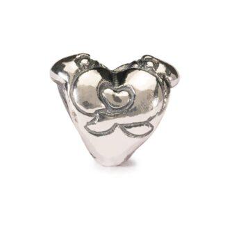Beads Trollbeads in Argento - Abbraccio del Cuore - TAGBE-10007