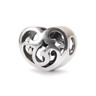 Beads Trollbeads in Argento - Anima Romantica - TAGBE-20212
