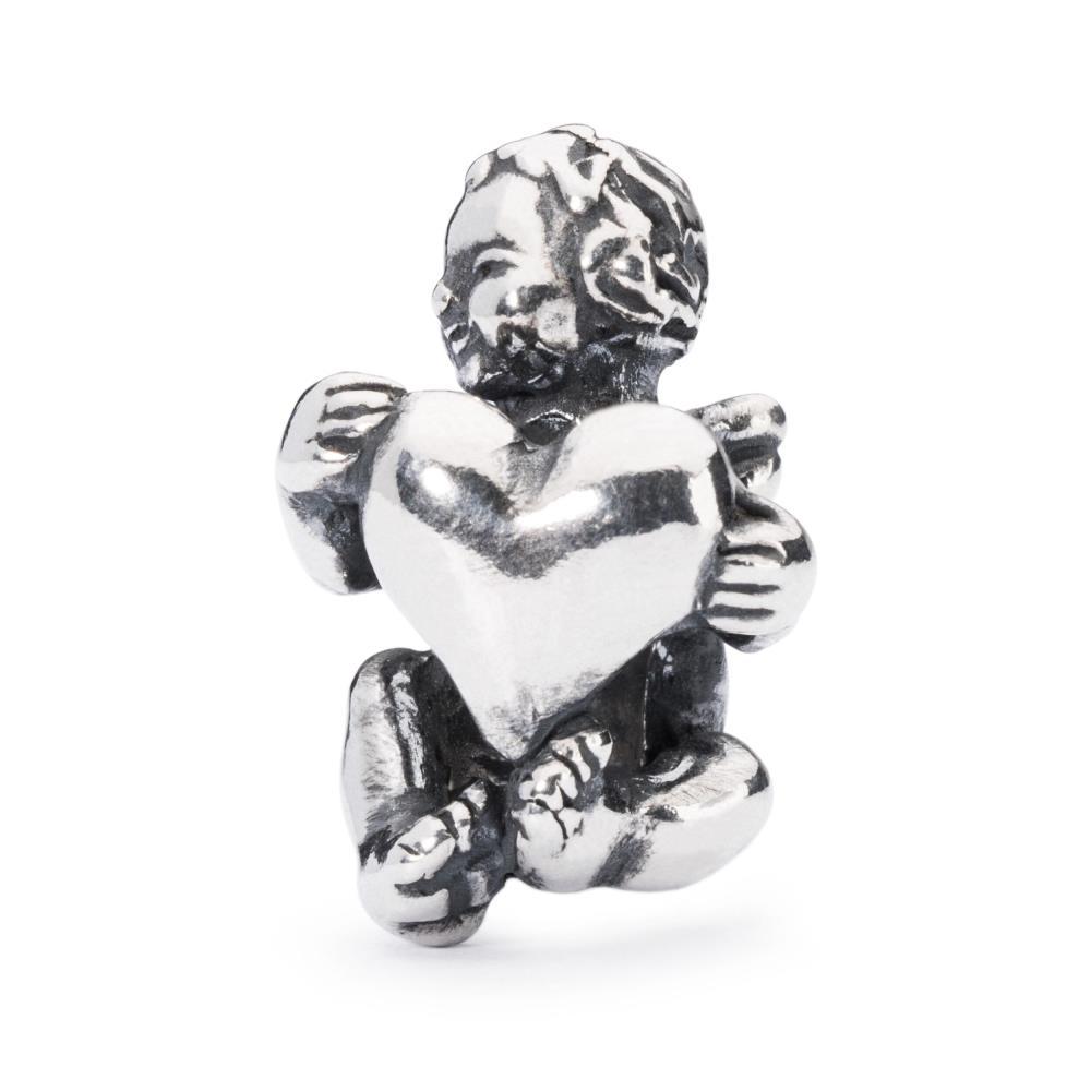 TROLLBEADS Bead in Argento Abbraccio del Cuore TAGBE-10007