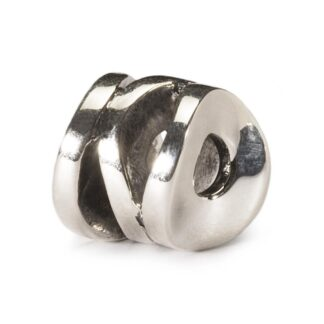 Beads Trollbeads in Argento - Cilindro Sorridente - TAGBE-30094