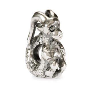 Beads Trollbeads in Argento - Capricorno Pragmatico - TAGBE-30111