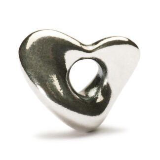 Beads Trollbeads in Argento - Cuore Soffice - TAGBE-40032