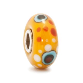 Beads Trollbeads in Argento e Vetro - Grande Barriera Corallina - TGLBE-10132