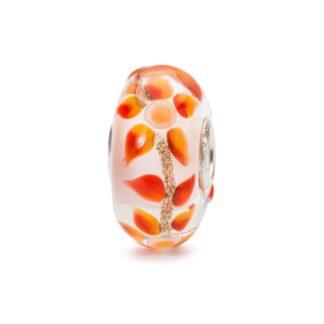 Beads Trollbeads in Argento e Vetro - Fiore dei Sogni - TGLBE-10459