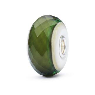 Beads Trollbeads in Argento e Vetro - Verde Speranza - TGLBE-30020