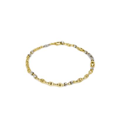 Bracciale Zancan in Oro Giallo con Diamanti - Eternity Gold - EB700GB