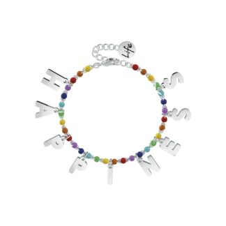 Bracciale Kidult in Acciaio e Smalti | Happiness – Philosophy – 731582