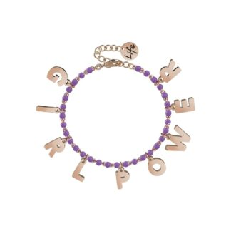 Bracciale Kidult in Acciaio e Smalti | Girl Power – Philosophy – 731583