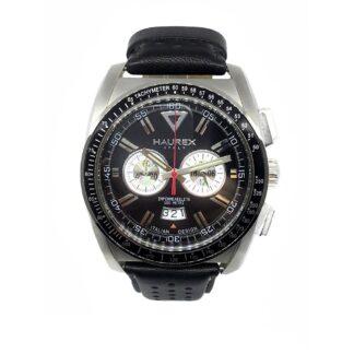 Orologio Haurex Cronografo Acciaio Pelle | Serie MPH - 9A346UNS