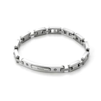 Bracciale 4US in Acciaio con Targa - Colorfull Rectangle - 4UBR3266